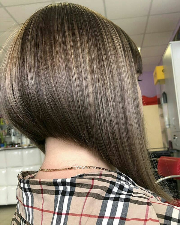 Inverted-Bob-Hair-Style Popular Bob Hairstyles 2019