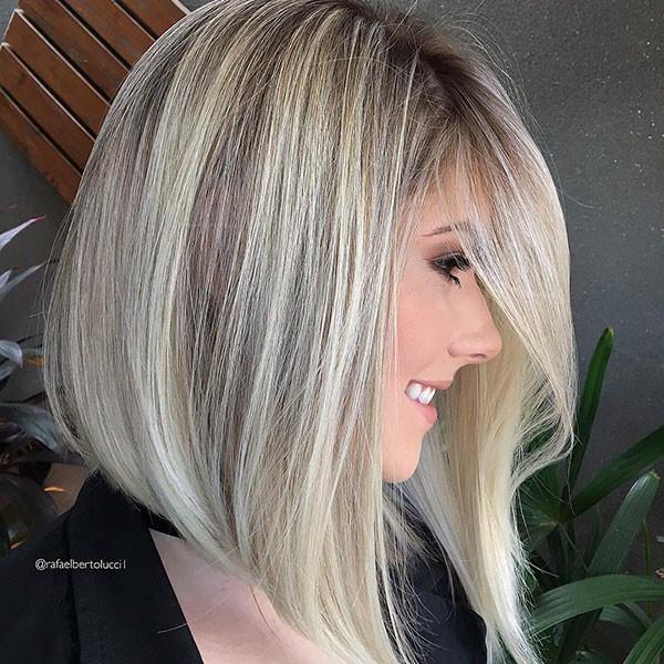 Inverted-Bob-Haircut Popular Bob Hairstyles 2019