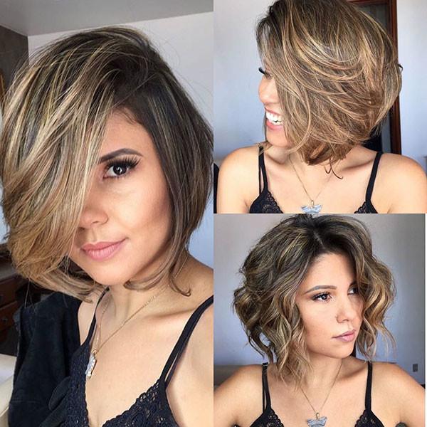 Layered-Bob-Haircut Popular Bob Hairstyles 2019