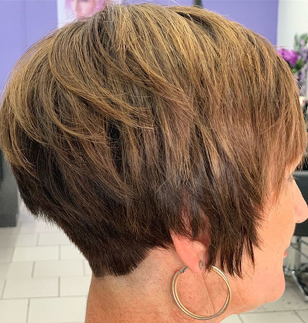 Layered-Cut New Best Short Haircuts for Women