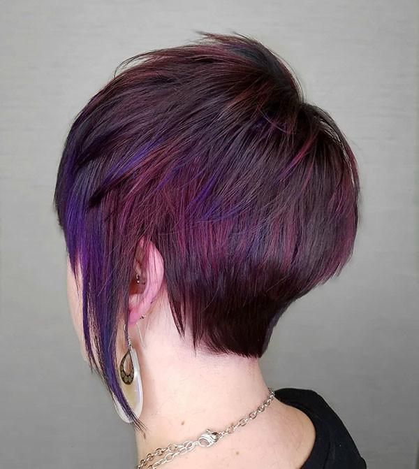 Layered-Long-Pixie Beautiful Short Hair for Girls
