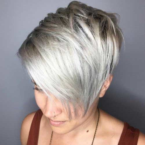 Long-Bangs-1 Best Short Fine Hairstyles Women 2019