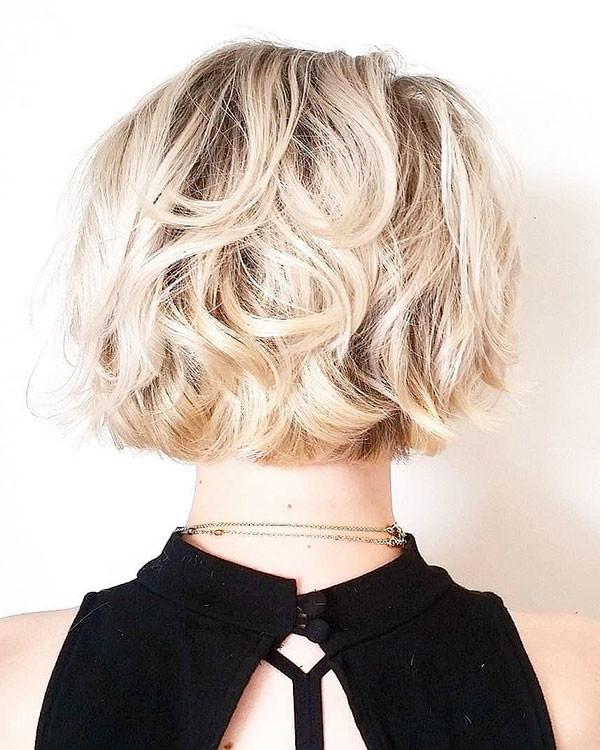 Messy-Short-Hair New Short Blonde Hairstyles