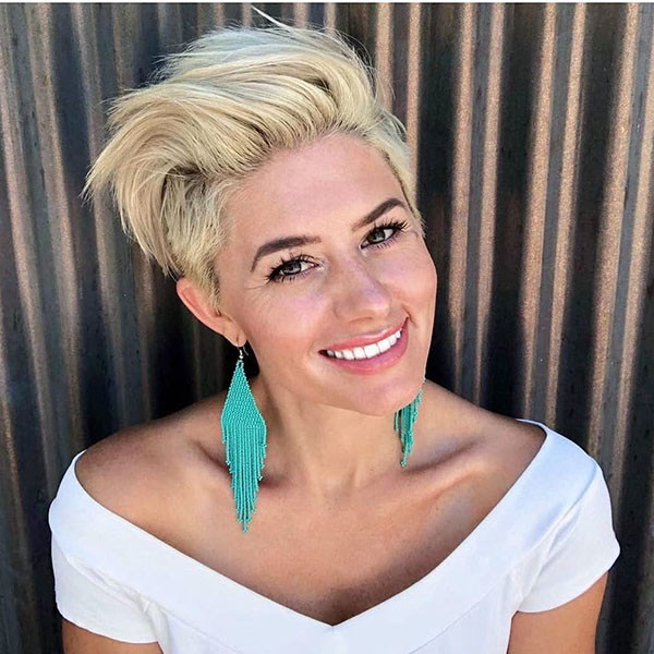 Modern-Blonde-Short-Hair-Color New Short Blonde Hairstyles
