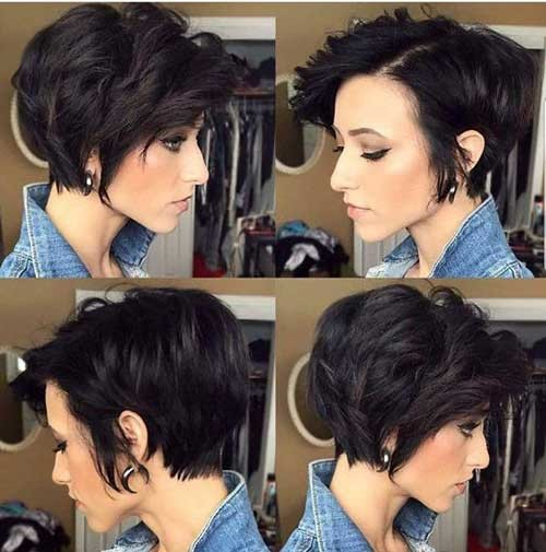 Pixie-Bob-for-Wavy-Hair Pixie Bob Haircuts for Neat Look