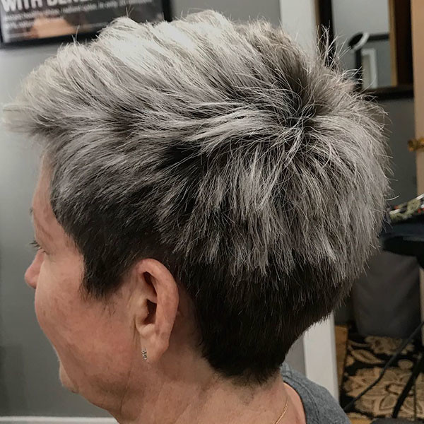 Pixie-Cropped Best Short Hairstyles for Older Women in 2019