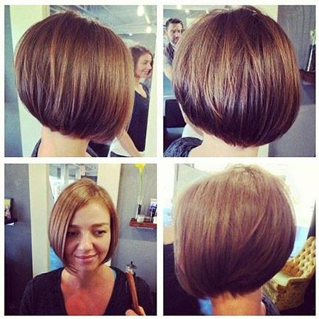 Round-Bob-Cut Short Bob Haircuts for Women