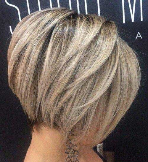 Short-Hair-Balayage Brilliant Short Straight Hairstyles