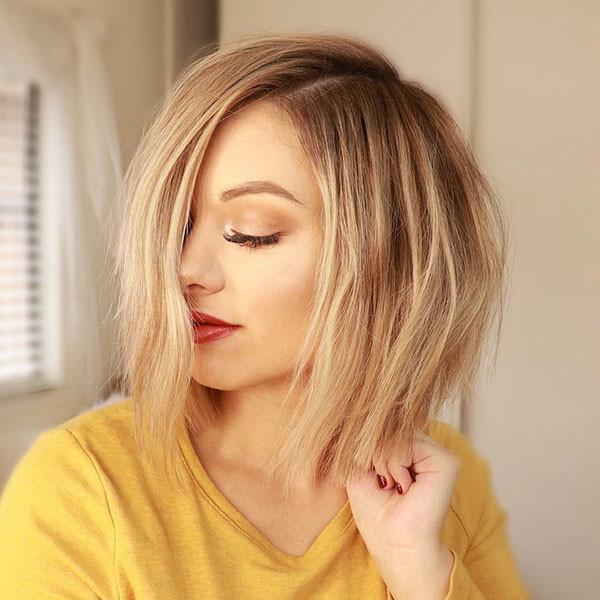 Short-Hair Popular Short Hairstyles for Fine Hair