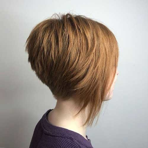 Short-Inverted-Bob New Short Haircut Trends Women 2019