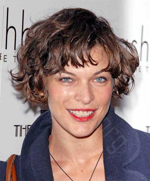 Short-Layered-Wavy-Hair Short Haircuts for Wavy Hair