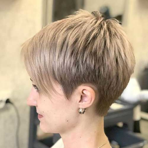 Short-Pixie-Hairstyle Best Short Fine Hairstyles Women 2019