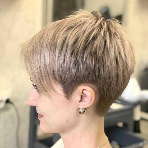 Short-Pixie-Hairstyle Best Short Fine Hairstyles Women 2019