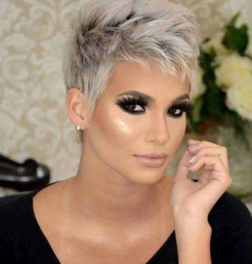 Spiky-Pixie-Cut Stylish Pixie Haircuts Every Women Should See
