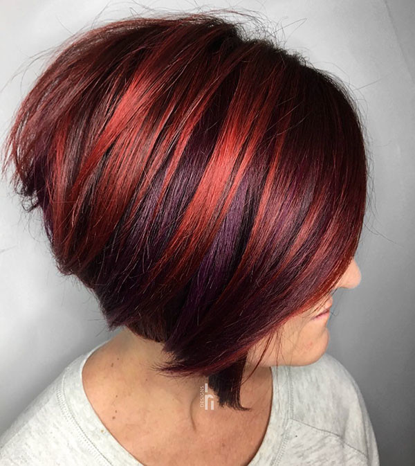 Stacked-Bob-Cut New Best Short Haircuts for Women