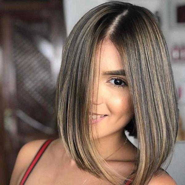 Straight-Bob-Hair Popular Bob Hairstyles 2019
