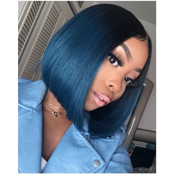 Straight-Hair-2 Best Bob Hairstyles for Black Women Pictures in 2019