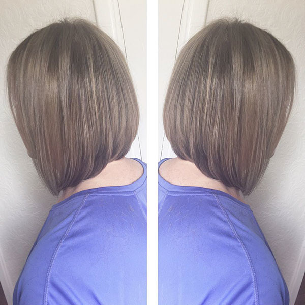 Straight-Lob New Best Short Haircuts for Women