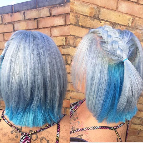 Stylish-Hairstyle Amazing Braids for Short Hair