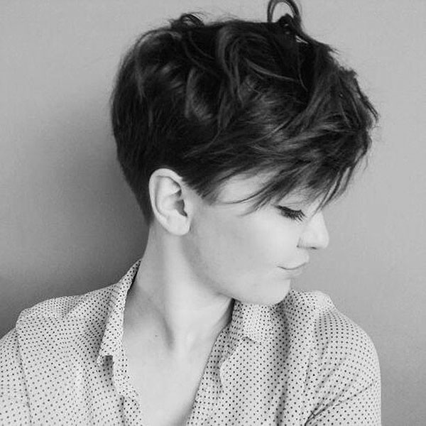 Thick-Short-Hair-for-Girls Beautiful Short Hair for Girls
