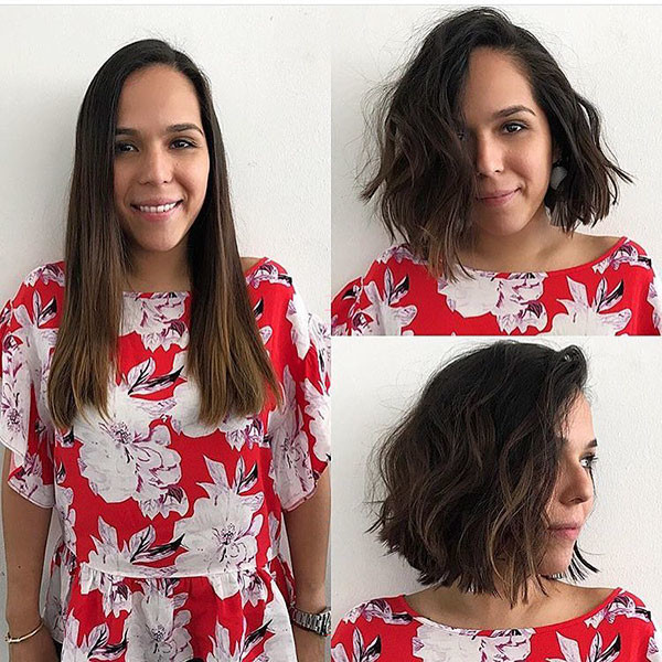 Thick-Wavy-Short-Hairstyle New Cute Short Hairstyles