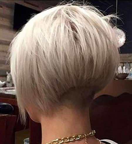 Undercut-Bob-Hair Short Bob Haircuts for Women