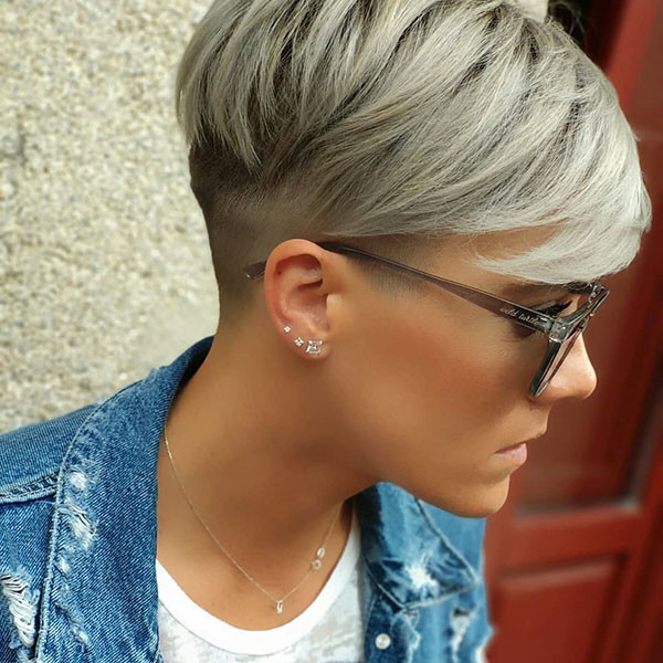 Undercut-Pixie-2019 New Pixie Haircut Ideas in 2019