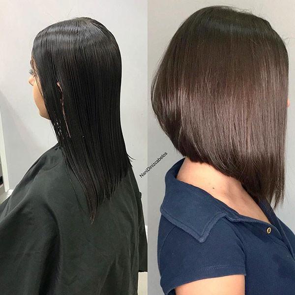 Very-Long-Inverted-Bob Popular Bob Hairstyles 2019