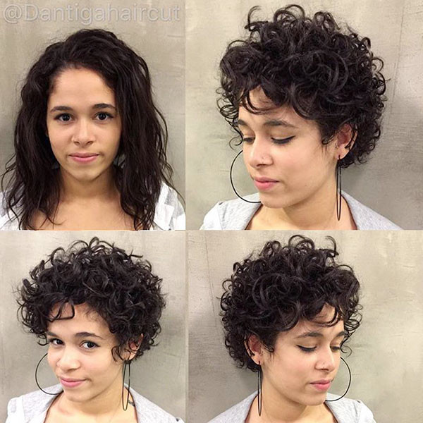 Very-Short-Curly-Hair-for-Girls Best Short Curly Hair Ideas in 2019