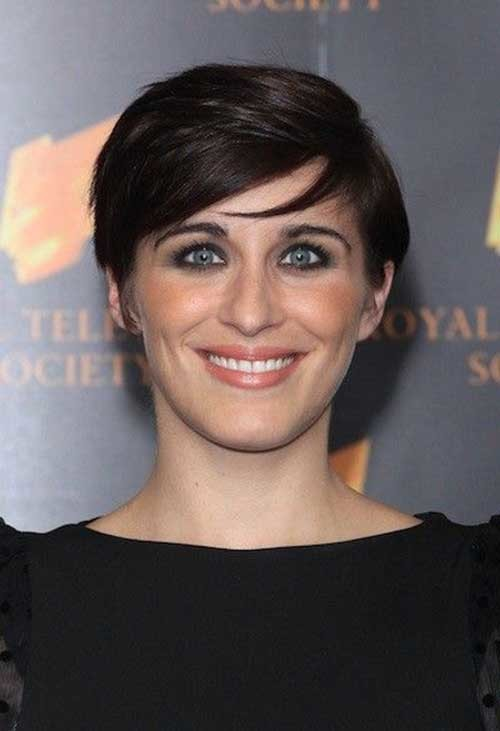 Vicky-Mcclure Brilliant Short Straight Hairstyles