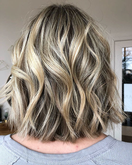 14-blonde-balayage-bob Famous Blonde Bob Hair Ideas in 2019