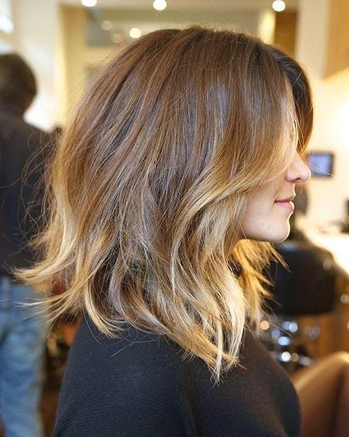 14-brown-to-blonde-ombre-short-hair Beautiful Brown to Blonde Ombre Short Hair