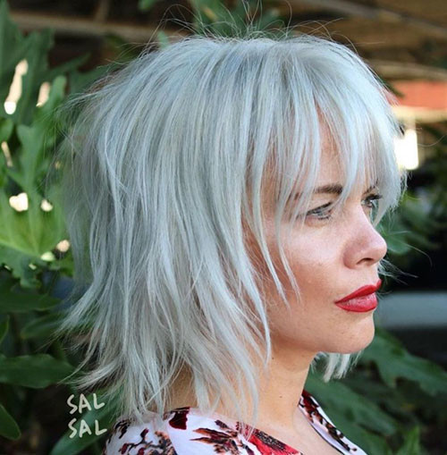 20-short-layered-hairstyles-with-bangs-for-fine-hair Best Short Layered Bob With Bangs