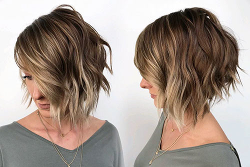 25-short-layered-bob-with-side-bangs Best Short Layered Bob With Bangs