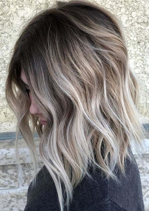 30-short-brown-hair-with-blonde-highlights Beautiful Brown to Blonde Ombre Short Hair