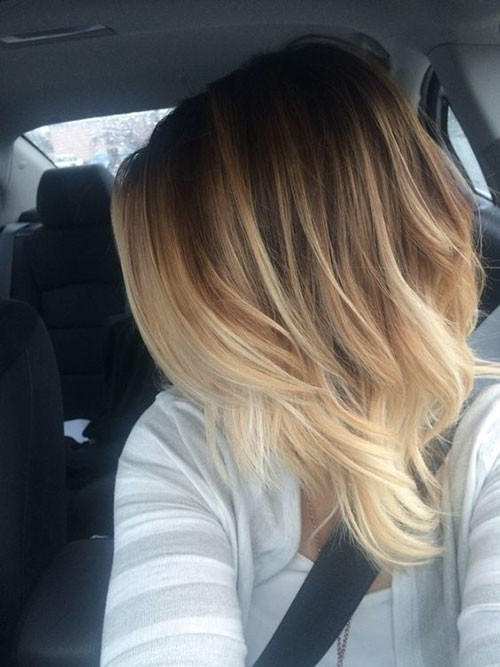 31-brown-to-blonde-ombre-short-hair Beautiful Brown to Blonde Ombre Short Hair