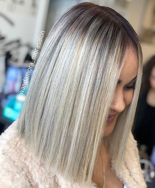 39-blonde-long-bob Famous Blonde Bob Hair Ideas in 2019