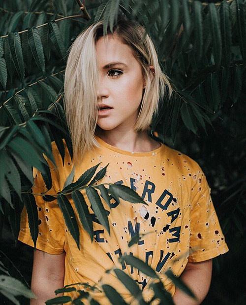 41-blonde-bob-haircut Famous Blonde Bob Hair Ideas in 2019