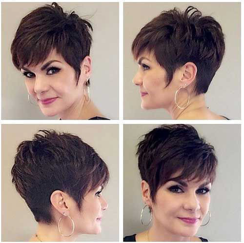 49-pixie-hair-styles-for-older-women Beautiful Pixie Cuts for Older Women 2019