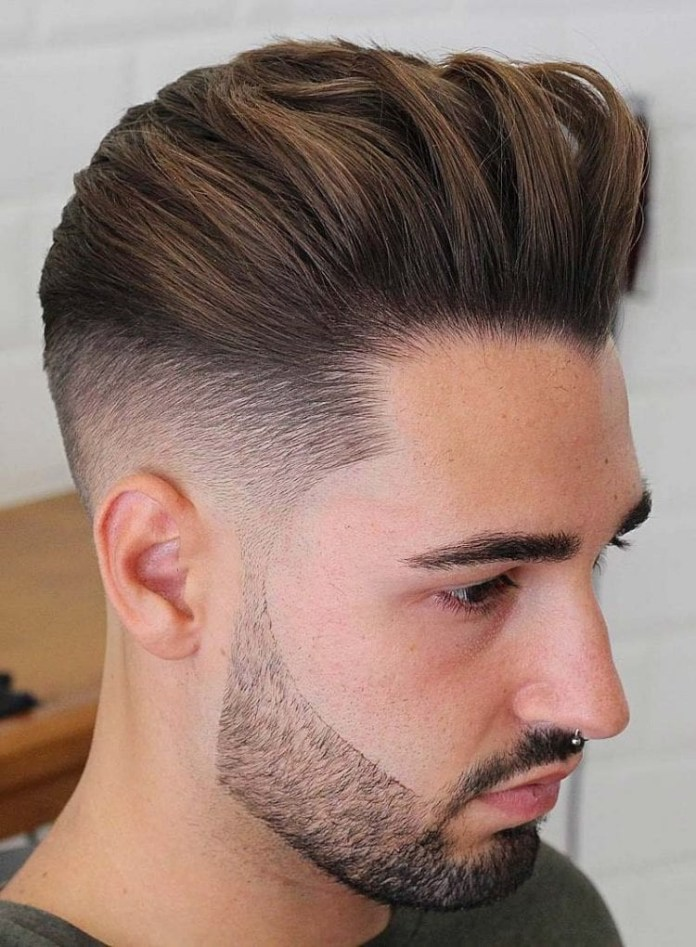 Back-Swept-Undercut Stylish Undercut Hairstyle Variations in 2019: A Complete Guide