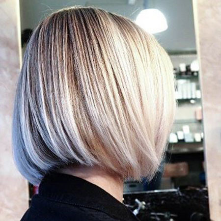 Balayage-Blond New Bob Hairstyles 2019