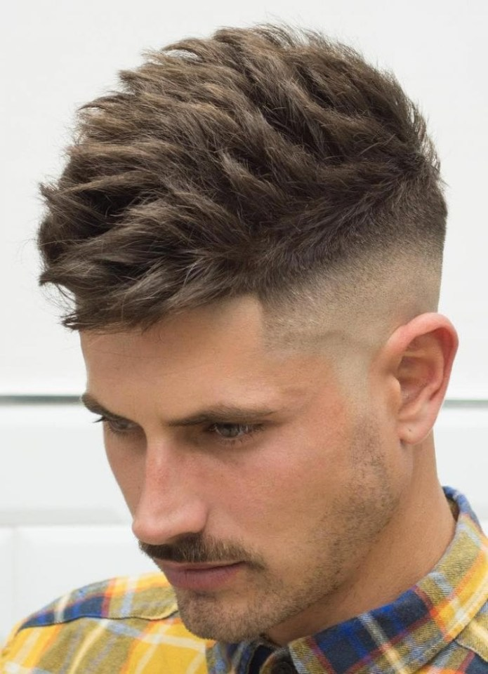 Brushed-Up-Mid-Skin-Fade Stylish Undercut Hairstyle Variations in 2019: A Complete Guide