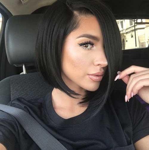 Chic-Bob-Hairstyle Asymmetrical Bob Haircuts