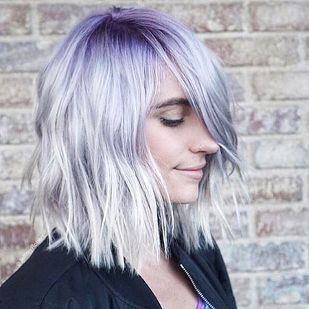 Cute-Color New Bob Hairstyles 2019