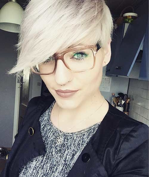 Cute-Short-Hairstyle-1 New Cute Hairstyle Ideas for Short Hair
