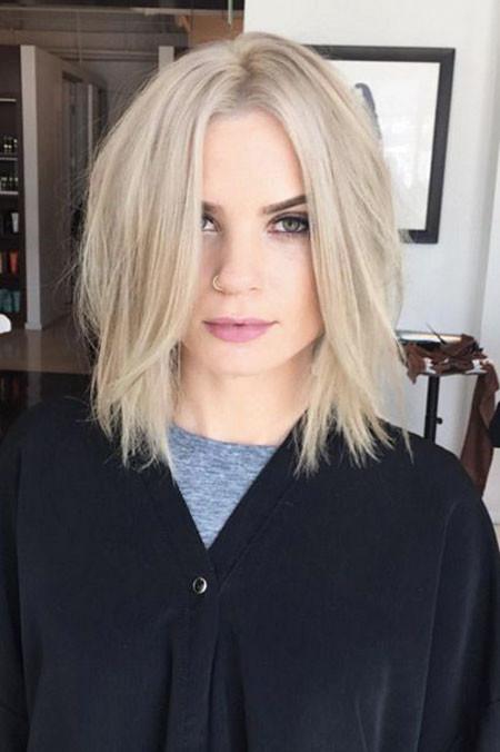 Daily-Style Popular Short Blonde Hair 2019