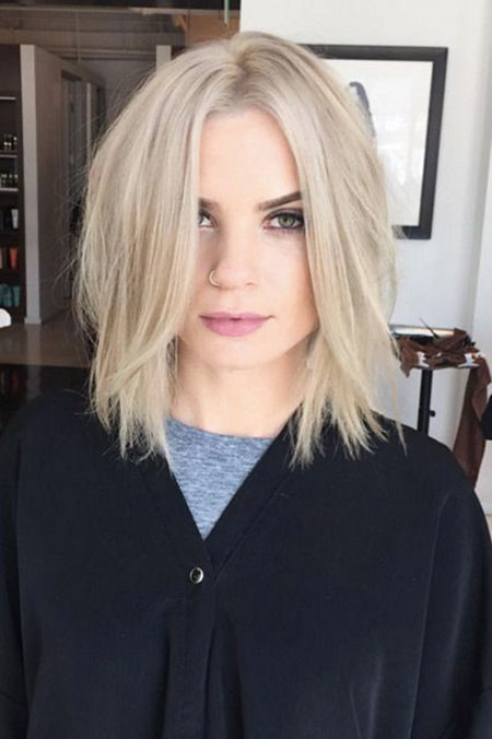 Daily-Style Popular Short Blonde Hair 2019