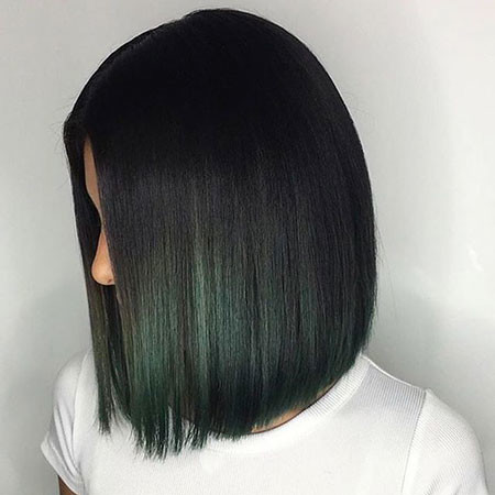 Dark-Green New Bob Hairstyles 2019