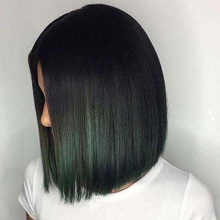 Dark-Green New Bob Hairstyles 2019