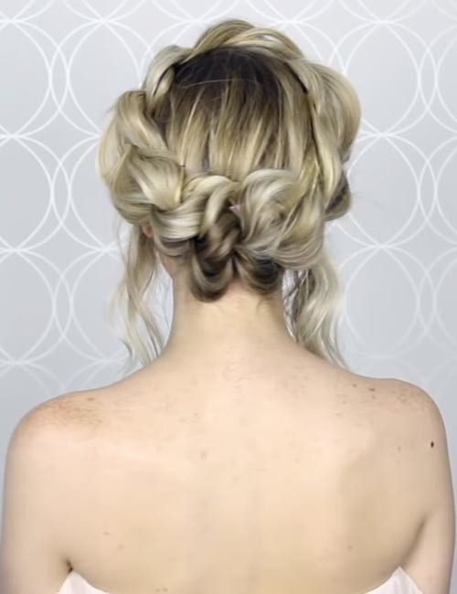 Faux-Crown-Braid Beautiful Crown Braid Hairstyles